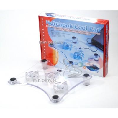 Chladiaca podložka pod notebook - napájanie USB