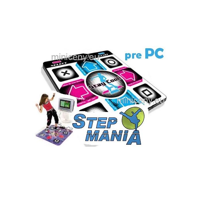 Tanečná podložka k PC, na USB - CHUDNUTIE, ZÁBAVA + PC HRA zdarma