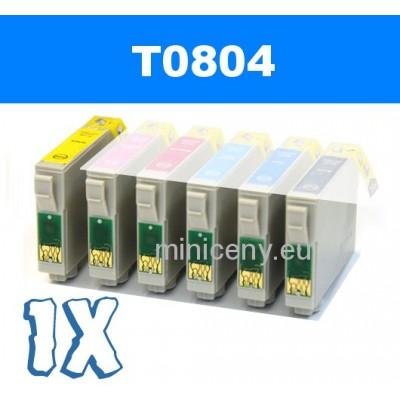 EPSON T0804 yellow - 18ml náplň do tlačiarne EPSON