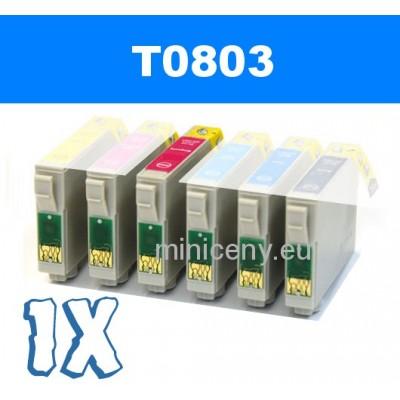 EPSON T0803 magenta - 18ml náplň do tlačiarne EPSON