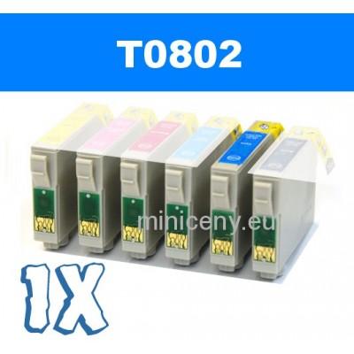 EPSON T0802 cyan - 18ml náplň do tlačiarne EPSON