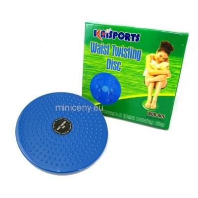 Rotačný disk TWISTER pre cvičenie, chudnutie, akupresúra