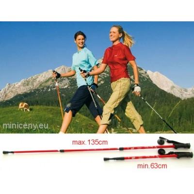 Trekové palice pre turistiku, nordic walking, teleskopické