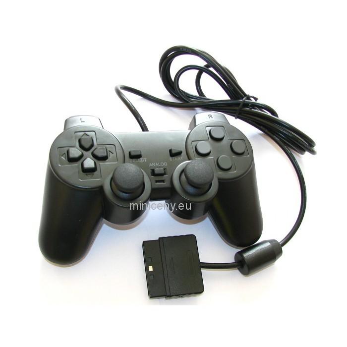 Ovládač na PS2 - Herný OVLÁDAČ na PLAYSTATION PS2 DUAL SHOCK 2