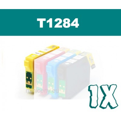 EPSON T1284 yellow - 18ml náplň do tlačiarne EPSON