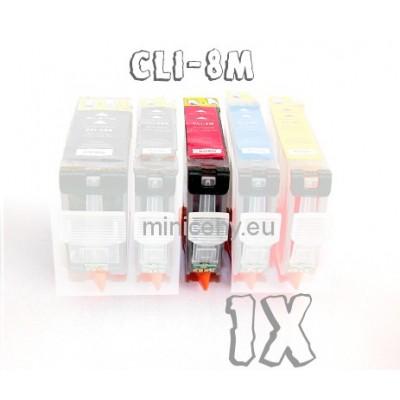 Canon CLI-8 M s ČIPOM, 16ml náplň do tlačiarne CANON iP, iX, MP, MX, PRO