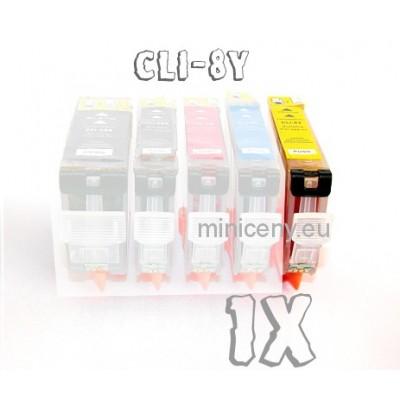 Canon CLI-8 Y s ČIPOM, 16ml náplň do tlačiarne CANON iP, iX, MP, MX, PRO