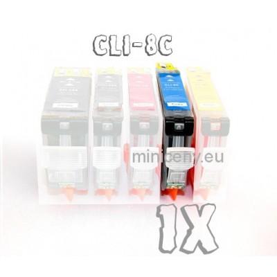Canon CLI-8 C s ČIPOM, 16ml náplň do tlačiarne CANON iP, iX, MP, MX, PRO