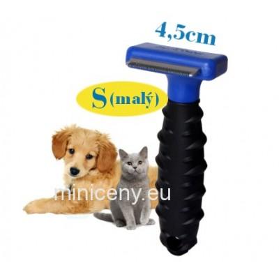 Hrebeň pre mačky a psy, malý - 4,5 cm / kefa pre psy a mačky