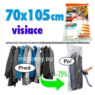 Vákuové vrece 70x105cm na zavesenie / vákuové vrecia space bag visiace