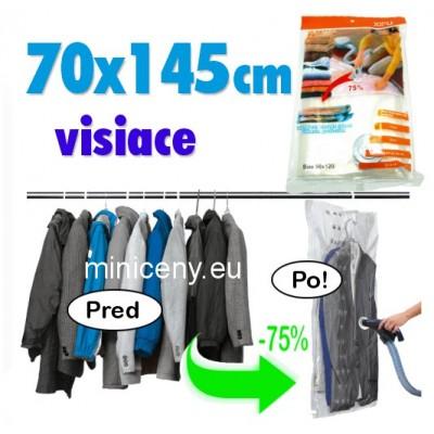 Vákuové vrece 70x145cm na zavesenie / vákuové vrecia space bag visiace
