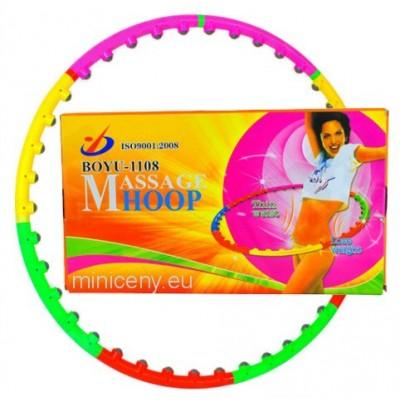 HULA HOOP - Masážna fitness obruč s masážou - 1m