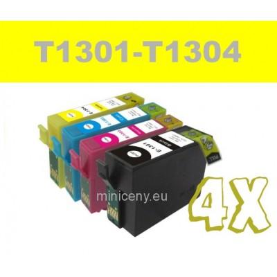 Sada T1301 - T1304 EPSON - náplň do tlačiarne 35ml+ 3x18ml / T1306 multipack