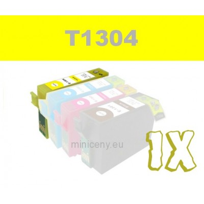 EPSON T1304 yellow - 18ml náplň do tlačiarne EPSON