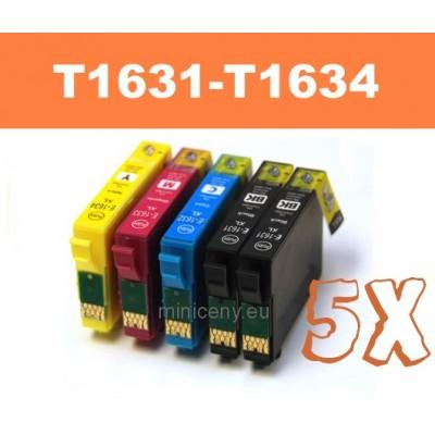 Sada T1631 - T1634 EPSON 16XL - náplň do tlačiarne 5x18ml / T1636 multipack