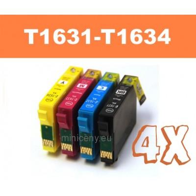 Sada T1631 - T1634 EPSON 16XL - náplň do tlačiarne 4x18ml / T1636 multipack