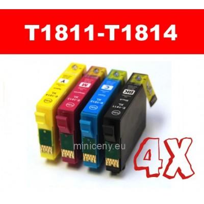 Sada T1811 - T1814 EPSON 18XL - náplň do tlačiarne 4x18ml / T1816 multipack