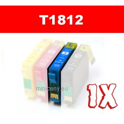 EPSON T1812 cyan 18XL - 18 ml náplň do tlačiarne EPSON