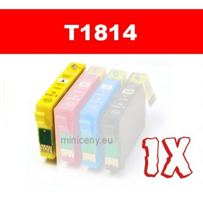 EPSON T1814 yellow 18XL - 18 ml náplň do tlačiarne EPSON