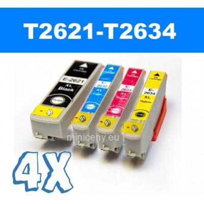 Sada T2621 - T2634 EPSON 26XL - náplň do tlačiarne 4x14ml / T2636 multipack