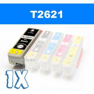 EPSON T2621 black 26XL - 22 ml náplň do tlačiarne EPSON