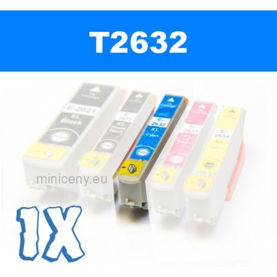 EPSON T2632 cyan 26XL - 14 ml náplň do tlačiarne EPSON