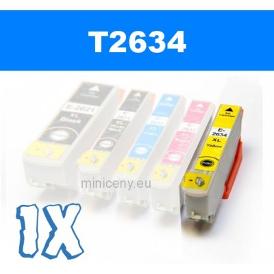EPSON T2634 yellow 26XL - 14 ml náplň do tlačiarne EPSON
