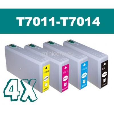 Sada T7011 - T7014 EPSON - náplň do tlačiarne / T7015 multipack