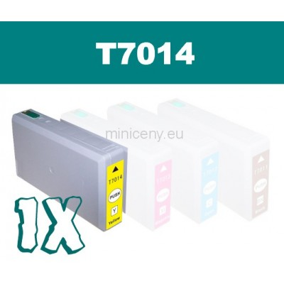 EPSON T7014 yellow - 36ml náplň do tlačiarne EPSON