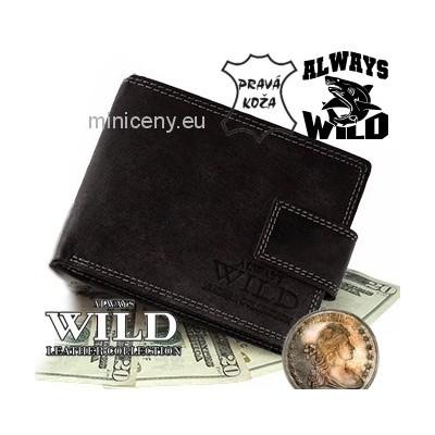 Exkluzívna pánska kožená peňaženka ALWAYS WILD /287 VINTAGE