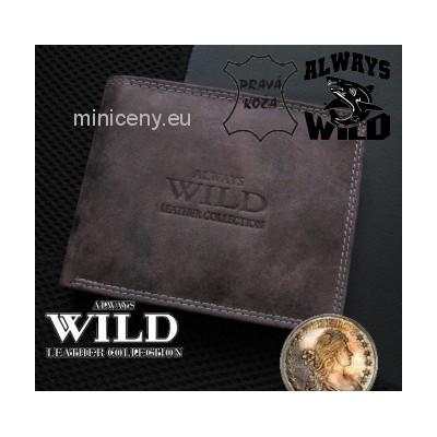 Exkluzívna pánska kožená peňaženka ALWAYS WILD /288 VINTAGE