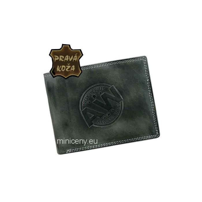 Exkluzívna pánska kožená peňaženka ALWAYS WILD /353 GRAY