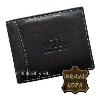 Exkluzívna pánska kožená peňaženka ALWAYS WILD /95 BLACK