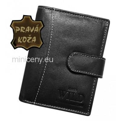 Exkluzívna pánska kožená peňaženka ALWAYS WILD /96 BLACK