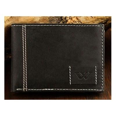 Exkluzívna pánska kožená peňaženka WILD ACTIVE /352 BLACK