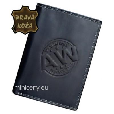 Exkluzívna pánska kožená peňaženka ALWAYS WILD /231 BLUE