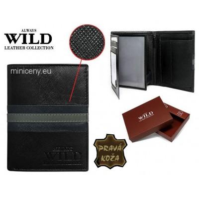 Exkluzívna pánska kožená peňaženka ALWAYS WILD /394
