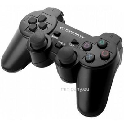 Ovládač na PS3 Esperanza - Herný OVLÁDAČ / GAMEPAD na Sony PLAYSTATION PS3